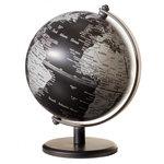 emform Mini wereldbol Gagarin Matzwart 13cm