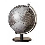 emform Mini wereldbol Gagarin Mat zilver 13cm