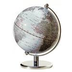 emform Mini wereldbol Gagarin Wit 13cm