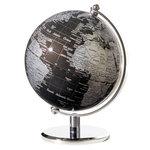 emform Mini wereldbol Gagarin Zwart 13cm