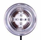 Menik Reflector voor vijf Daglicht Spiraallampen