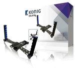 KN-RIG50N-Camera/Video-Rig  Met deze DSLR-standaard filmt u beter en gemakkelijker. De standaard is geschikt voor elk apparaat