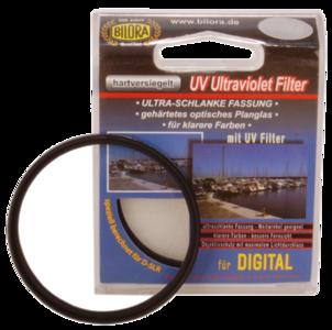 UV camera filter 62mm ultra slank