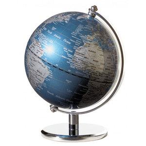 emform Mini wereldbol Gagarin Blauw 13cm