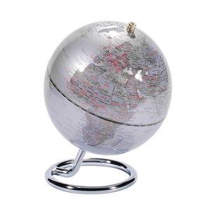 emform Mini globe Galilei Zilver 13.5cm