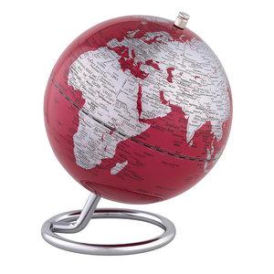 emform Mini globe Galilei Rood 13.5cm
