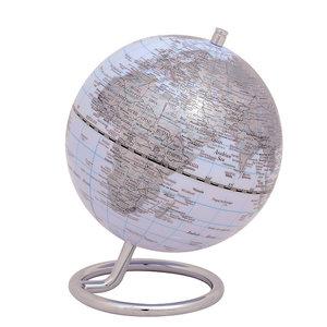 emform Mini globe Galilei Wit 13.5cm