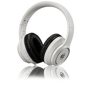 Bresser Bluetooth Over-Ear-Headphone - Wit