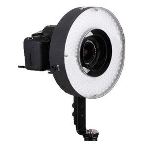 Ringlamp 26cm dimbaar LED 36watt + 2 accu's