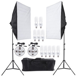 Daglicht Studio Softbox Set 2250 watt 5500K