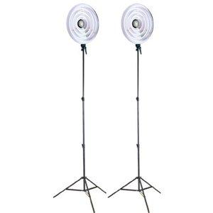 Ringlamp fluorescentie Set 22, 28 en 40 Watt