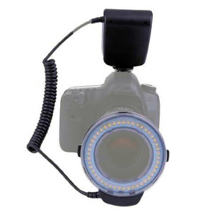 LED Ringlamp met Flitser Macro 4800K