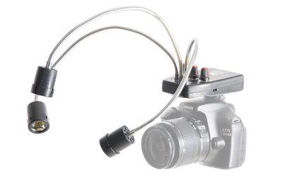 LED Camera Lamp Macro dimbaar batterij