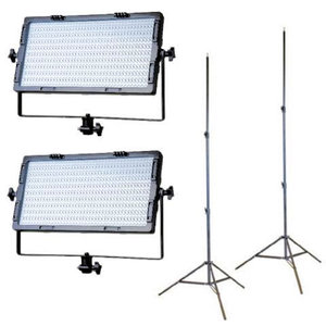 LED Studio Lamp Set Bi-Color 3000-7000K