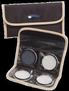 Filter etui voor 4 filters 58mm