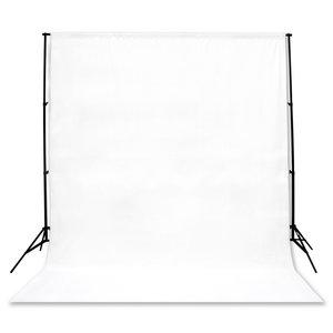 Studio Achtergrond Support BR-D23 + 3x4m doek wit