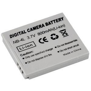 Canon Accu NB-4L 3.7v-800mAh