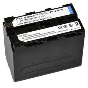 Sony AccuNP-F960/F9707.4v 6800mAh