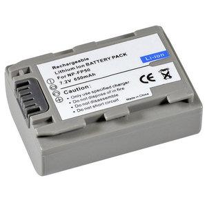 Sony AccuNP-FP50 7.2v 650mAh