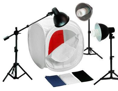 Lichttent set 80x80cm / 1075watt