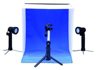 Opnamebox set 50x50cm / 2x50watt