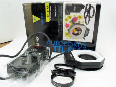 Analoge Nikon Macro Ringflitser TTL SLR camera's