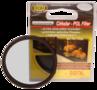 Bilora 72mm ultra slank circulaire polarisatie filter.